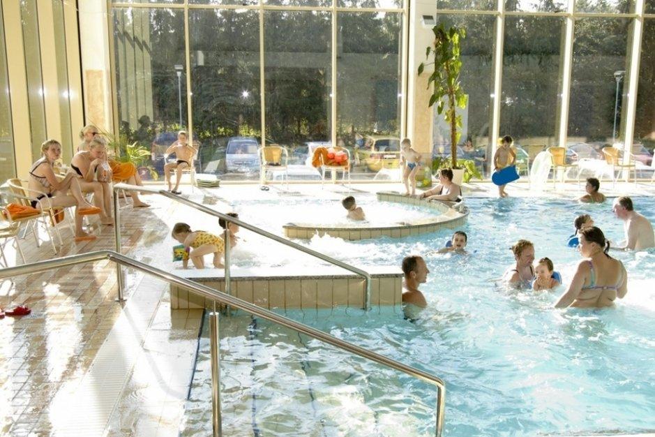 Uima-allasosasto on kylpylöiden keskipiste, niin myös Toila Spassa. (Kuva: Toila Spa)