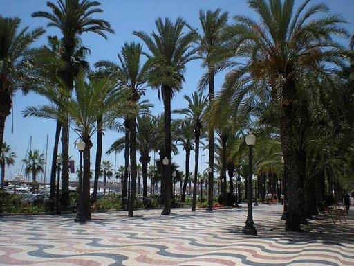 Explanada d´España, Alicanten upea rantakatu.