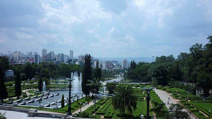 São Paulo<br /> etappina Etelä-Amerikkaan