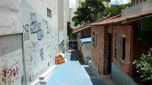 Vila Madalena hostelli.