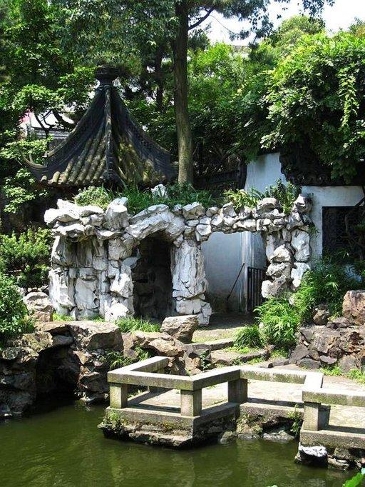 Yu's Garden -puisto Shanghain keskustassa on rauhallinen keidas miljoonakaupungin keskellä.