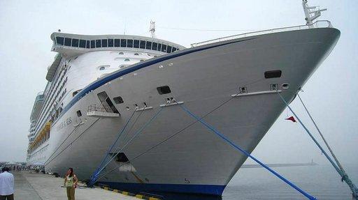 Voyager of the Seas -alus on rakennettu Suomessa.