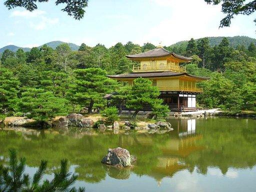 Kioton Kultainen temppeli on vaikuttava näky.