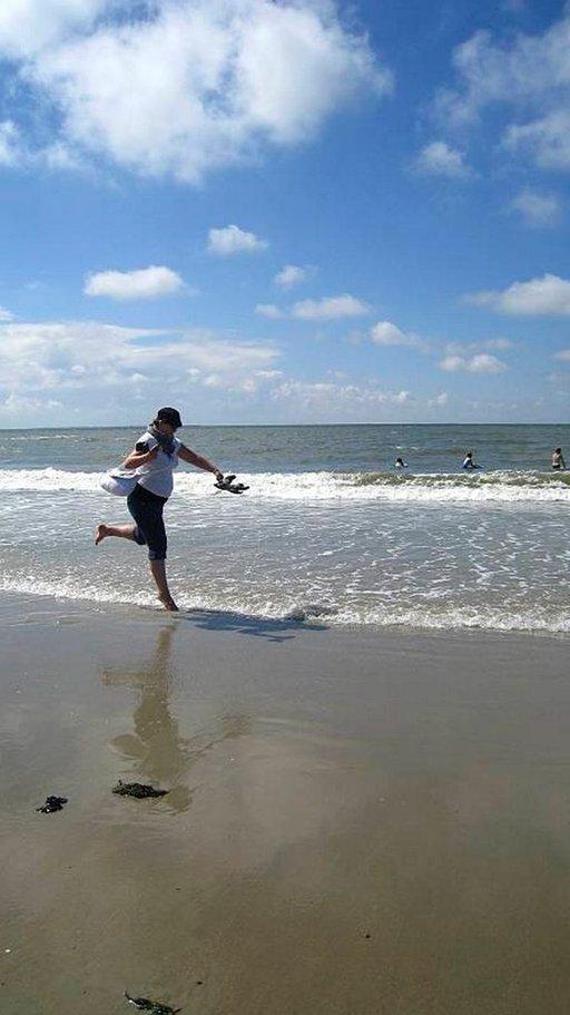 Aurinko, meri ja hiekkaranta houkuttavat Borkumille tuhansittain turisteja.