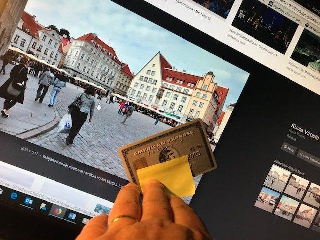 Amerikkalainen kortti ei enää kelpaa Virossa.