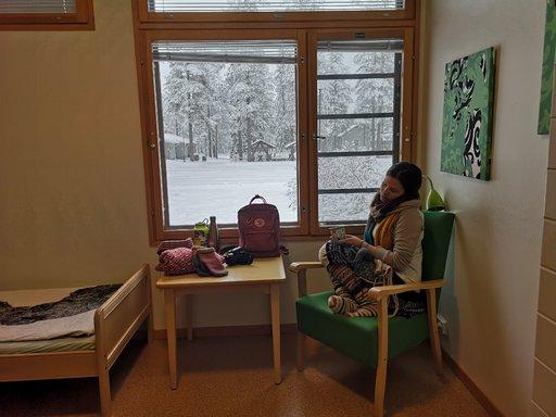 Hostellitarina Kuusamosta toi<br /> voiton vuoden hostellireissaajalle