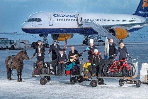 Jopa lentokapteeni oppaaksi<br /> Islannin matkalle