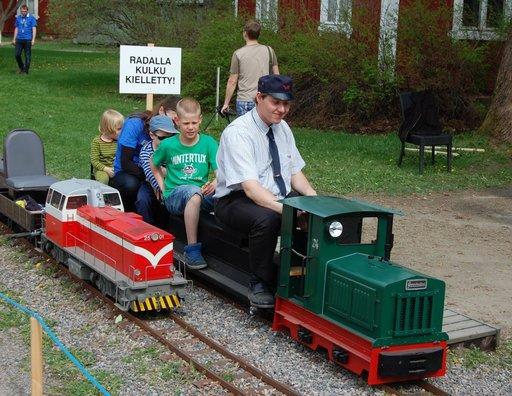 Museojunat liikenteessä<br /> rautatiemuseopäivänä