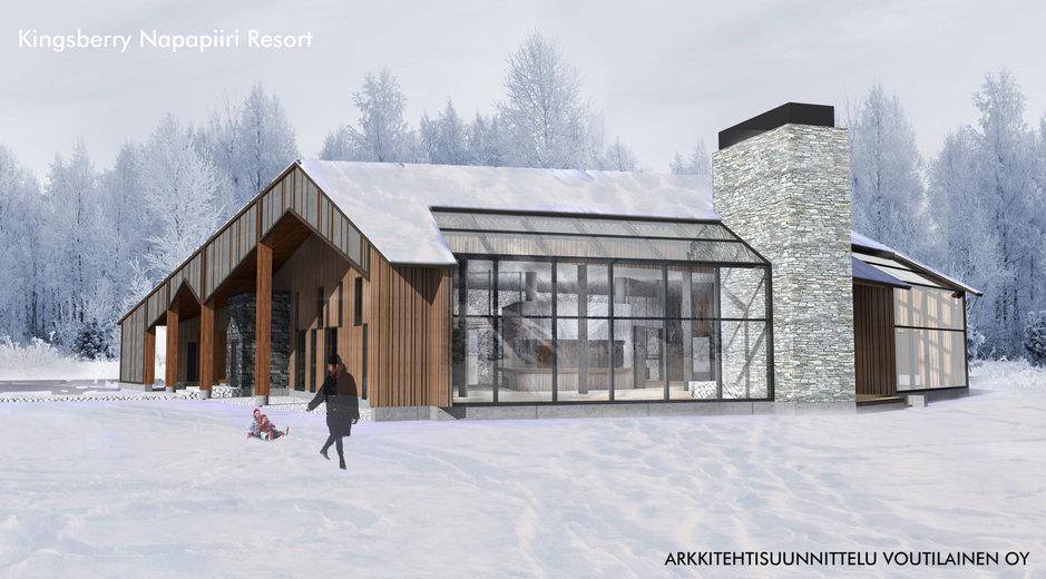 Suomen ensimmäinen kiinalais-<br /> hotelli valmistumassa Lappiin