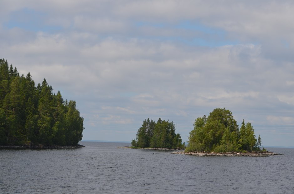 Laatokassa on 500 saarta, useat entisellä Suomen alueella.