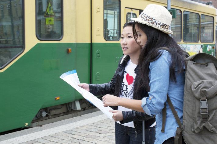 Katu- ja ratatyöt pätkivät<br /> liikennettä Helsingissä