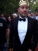 Tuore tangokuningas, espoolainen Jarno Kokko, oli voittoillan kuluessa suosittu selfie-kuvakaverina myös VIP-aitiossa.