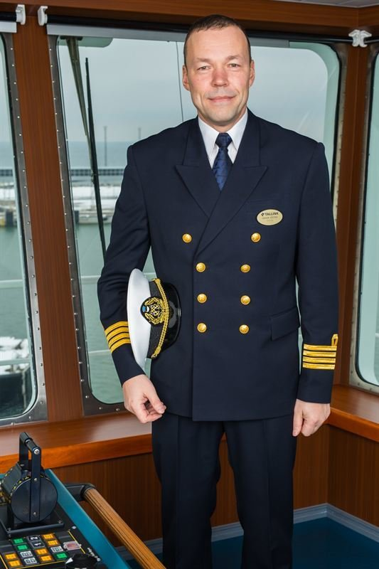 Megastarin kapteeni<br /> Baltic Queenilta<br /> &nbsp;