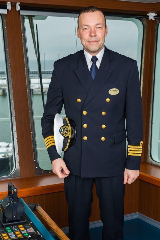 Megastarin kapteeni<br /> Baltic Queenilta<br />
