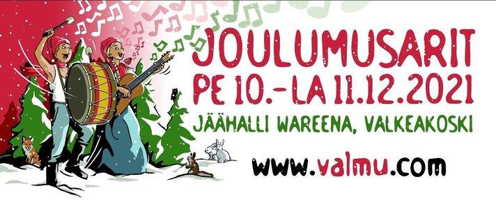 Työväen Musiikkitapahtuman<br /> Joulumusarit Valkeakoskella
