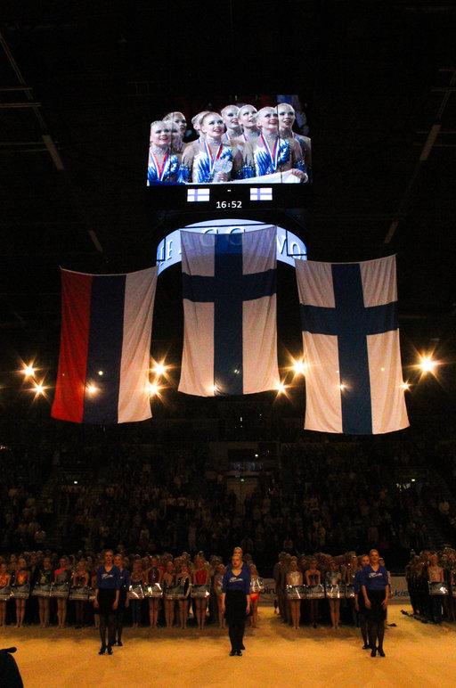 Suomi napsi voittoja<br /> voimistelun MM-kisoissa