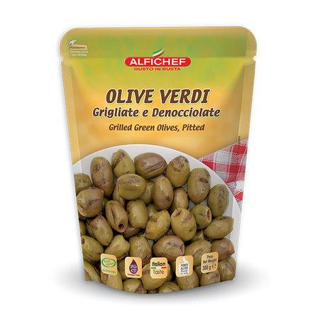 Alfichef Grillattu kivetön oliivi #1