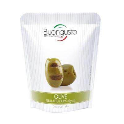Buongusto Grillattu oliivi öljyssä 150g