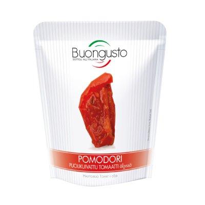 Buongusto Puolikuivattu tomaatti öljyssä 150g