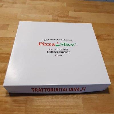 Multicatering PizzaSlice -laatikko 30x30x4cm 100kpl