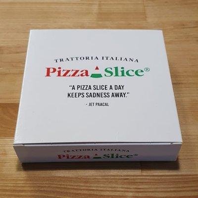 Multic PizzaSlice-kotelo 250kpl (15x15x3,5cm)