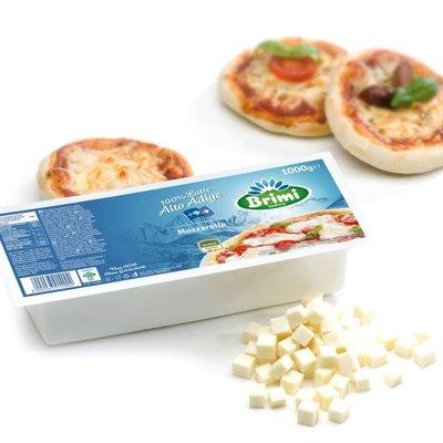 UUTUUS 2.3.21! Brimi Fior di Latte Mozzarella Pizza Block 1kg