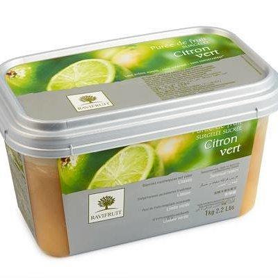 Multicatering Ravifruit Limepyree 90% 1kg pikapastöroitu pakaste