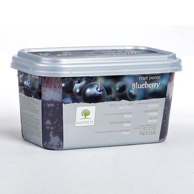 Multicatering Ravifruit Mustikkapyree 90% 5x1kg pikapastöroitu pakaste