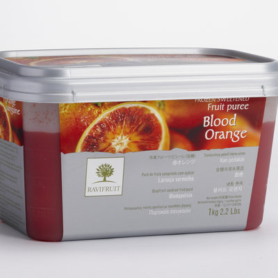 Multicatering Ravifruit veriappelsiinipyree 90% 5x1kg pakaste