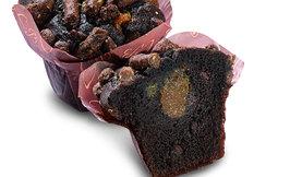 Caramel & brownie-muffinssi 135g