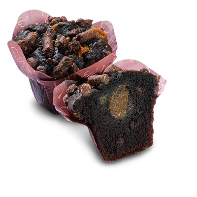 Multic caramel&brownie muffins 135g