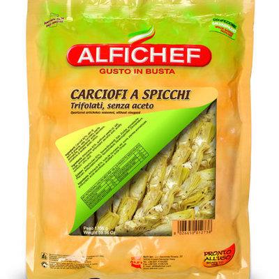 Multicatering Alfi artisokka 1/4 pala 1,7kg/1,4kg öljyssä ilman etikkaa pussisäilyke