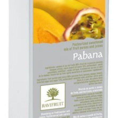 Multicatering Ravifruit pabanapyree 6x1kg pastöroitu