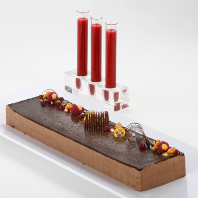 Suklaa fondant-kakku 800g