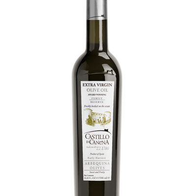 Multicatering Castillo de Canena extra virgin oliiviöljy Arbequina 6x500ml