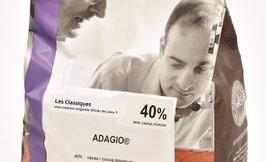 l'Opera Adagio maitosuklaa 40% 2x5kg