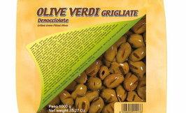 Alfichef Grillattu vihreä oliivi kivetön