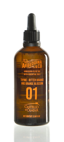 Arbequina extra virgin makuöljylajitelma 4x100ml #1
