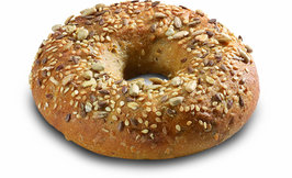 Low carb bagel 36x75g, V*