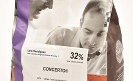l'Opera CONCERTO valkosuklaa 32%, 4x5kg