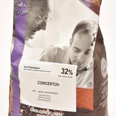 Multicatering Chocolaterie de l'Opera Concerto valkosuklaa 32% 5kg