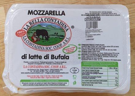 La Contadina Savustettu Mozzarella di Latte di Bufala 8x250g (á 5x50g) #1