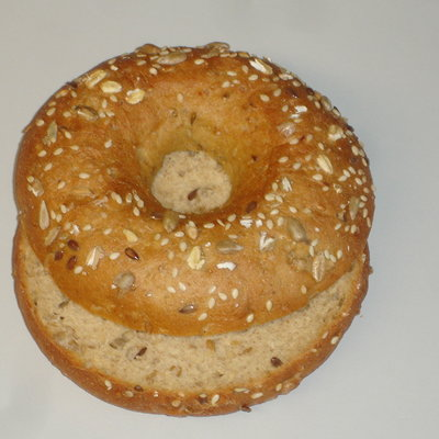 Multicatering bagel 36x75g low carb halkaistu pakaste