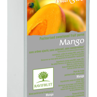 Multic Ravifruit 1kg mangopyree