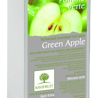 Ravifruit omenapyree pastöroitu 1000g