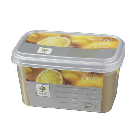 Multicatering Ravifruit sitruunapyree 90% 1kg pikapastöroitu pakaste