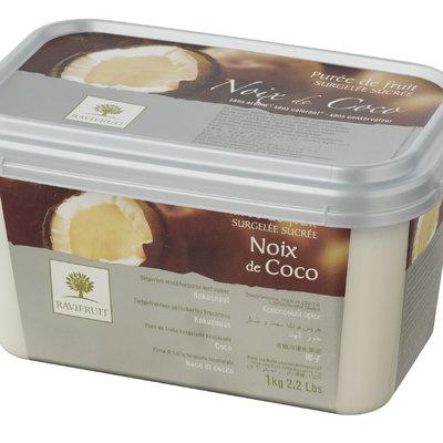 Multicatering Ravifruit kookospyree 90% 1kg pikapastöroitu pakaste