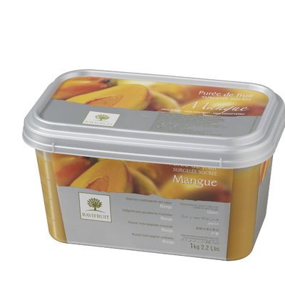 Multicatering Ravifruit mangopyree 90% 5x1kg pakaste