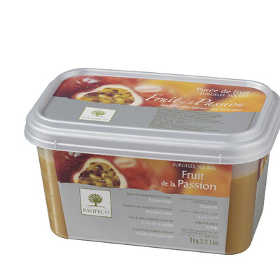 Multicatering Ravifruit passionpyree 90% 1kg pikapastöroitu pakaste