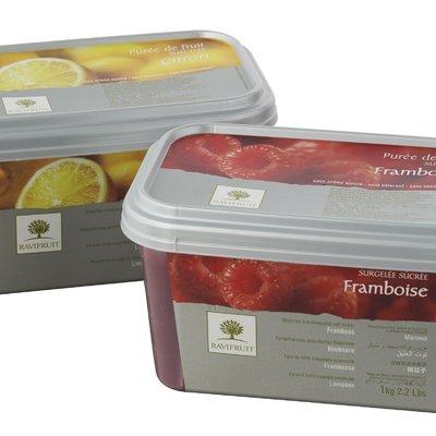 Multicatering Ravifruit kirsikkapyree 90% 1kg pikapastöroitu pakaste
